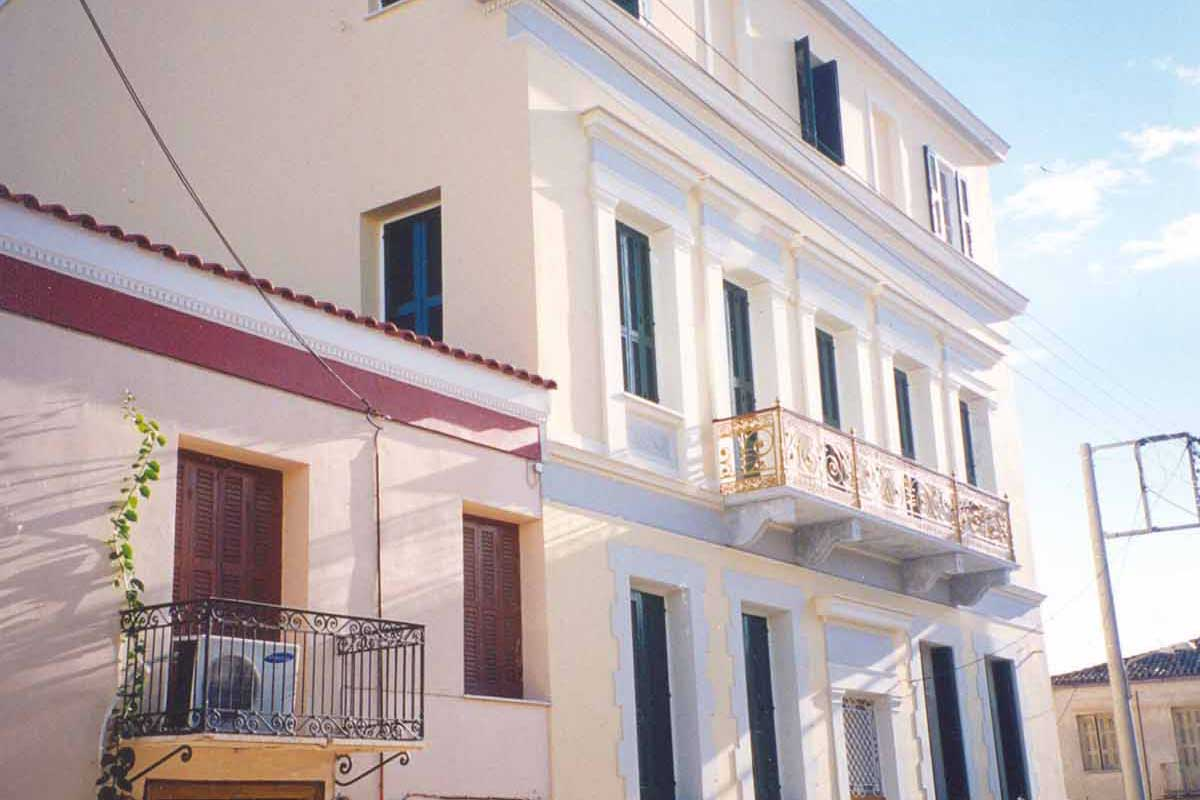 Restoration of a Listed Building in Patras