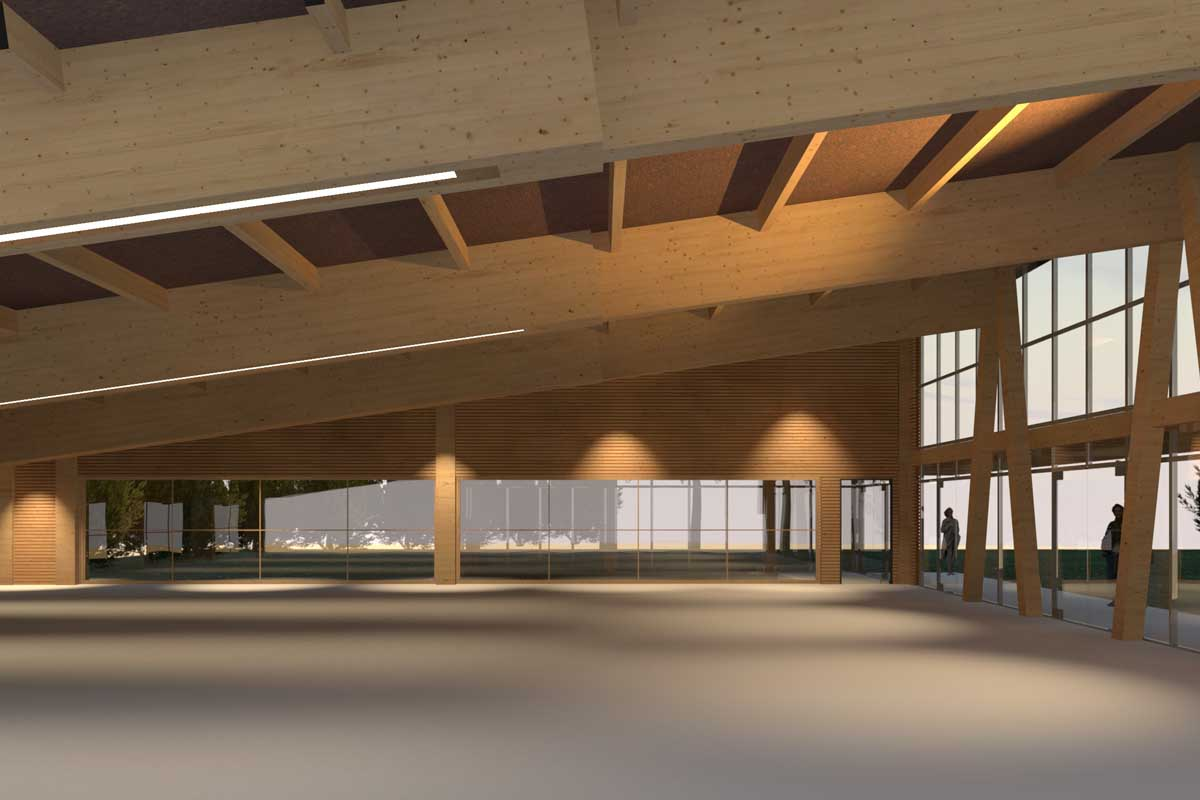 Multipurpose event space in Afidnes, Attica
