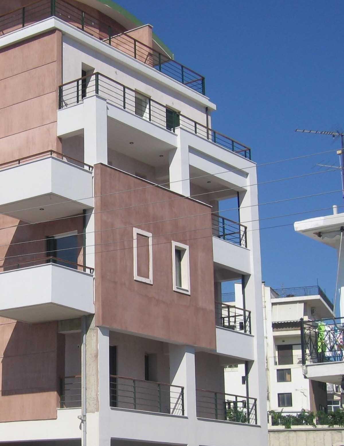 Avlidos apartment building in Chalkida