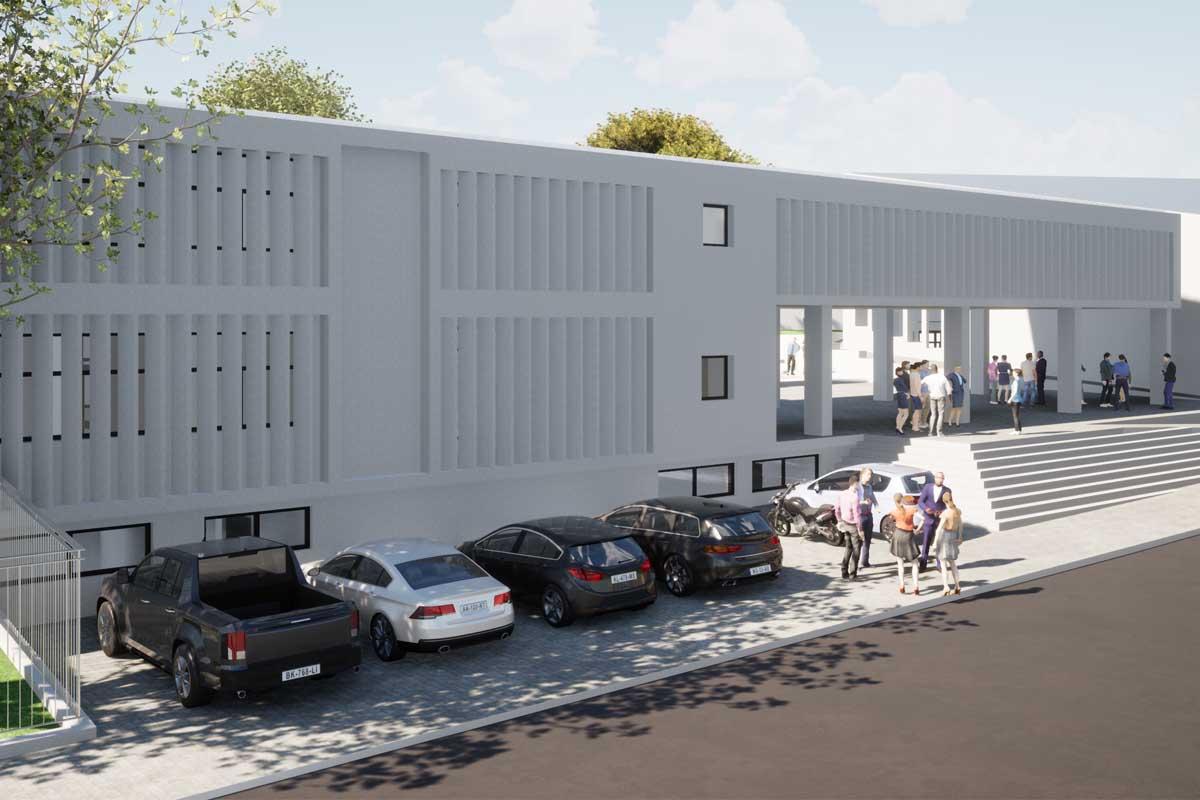 New Music School in Chalkida | Νέο Μουσικό Σχολείο Χαλκίδας