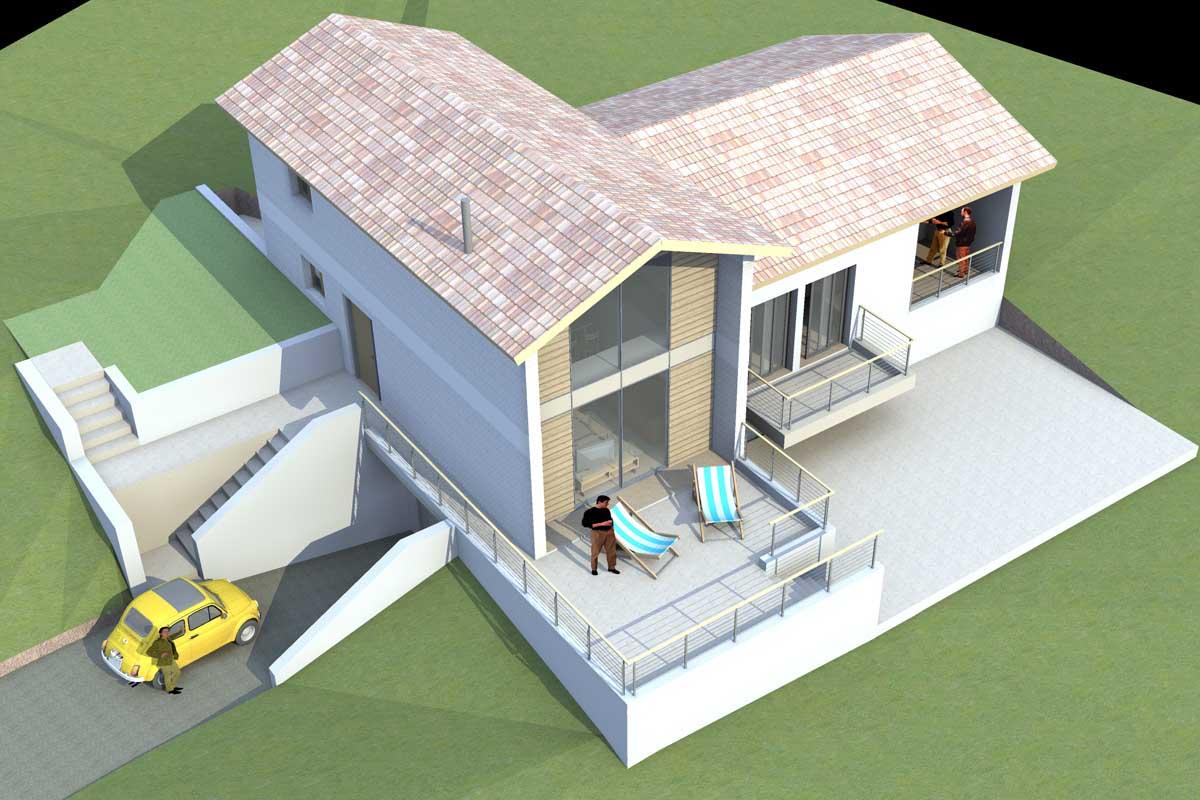 Residence in Loukisia