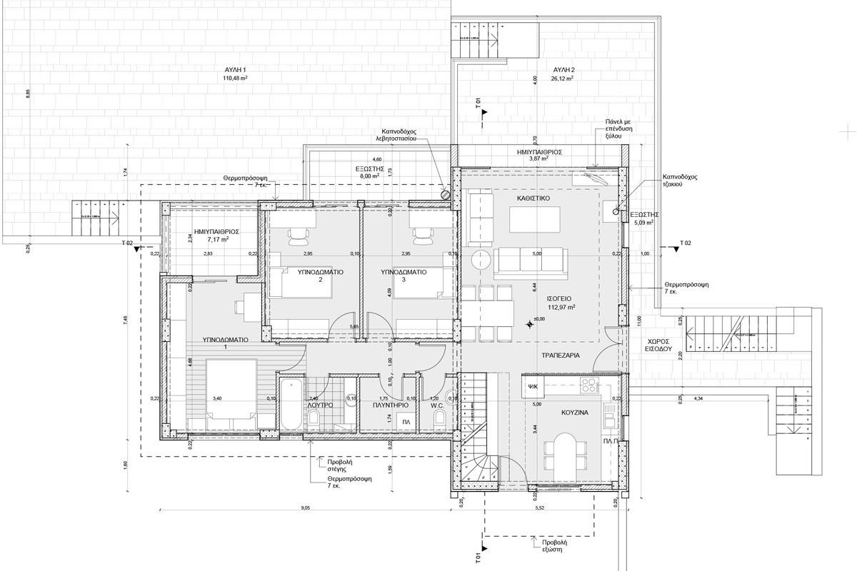Residence in Loukisia Planning permissions developmental approval