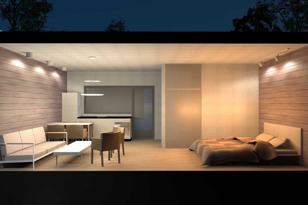 Standard tourist accommodation Eco Loft Suite