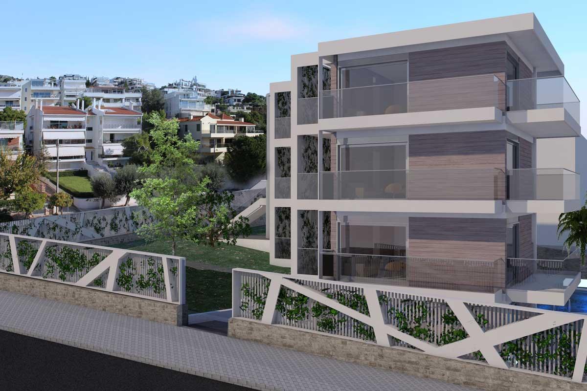 Hotel reconstruction in Vouliagmeni, Attica Οικολογική βιοκλιματική ανακατασκευή Ξενοδοχείου Βουλιαγμένη