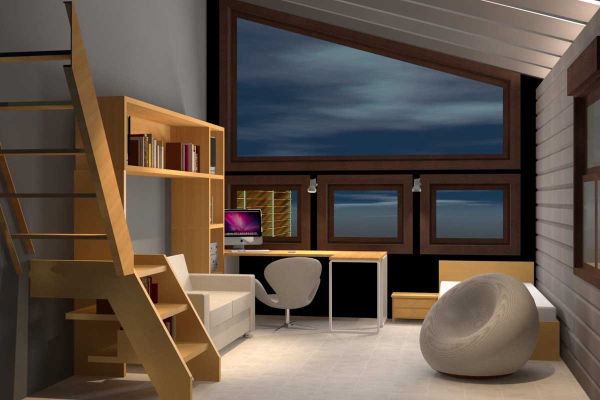 lighting design for a housein Marathon