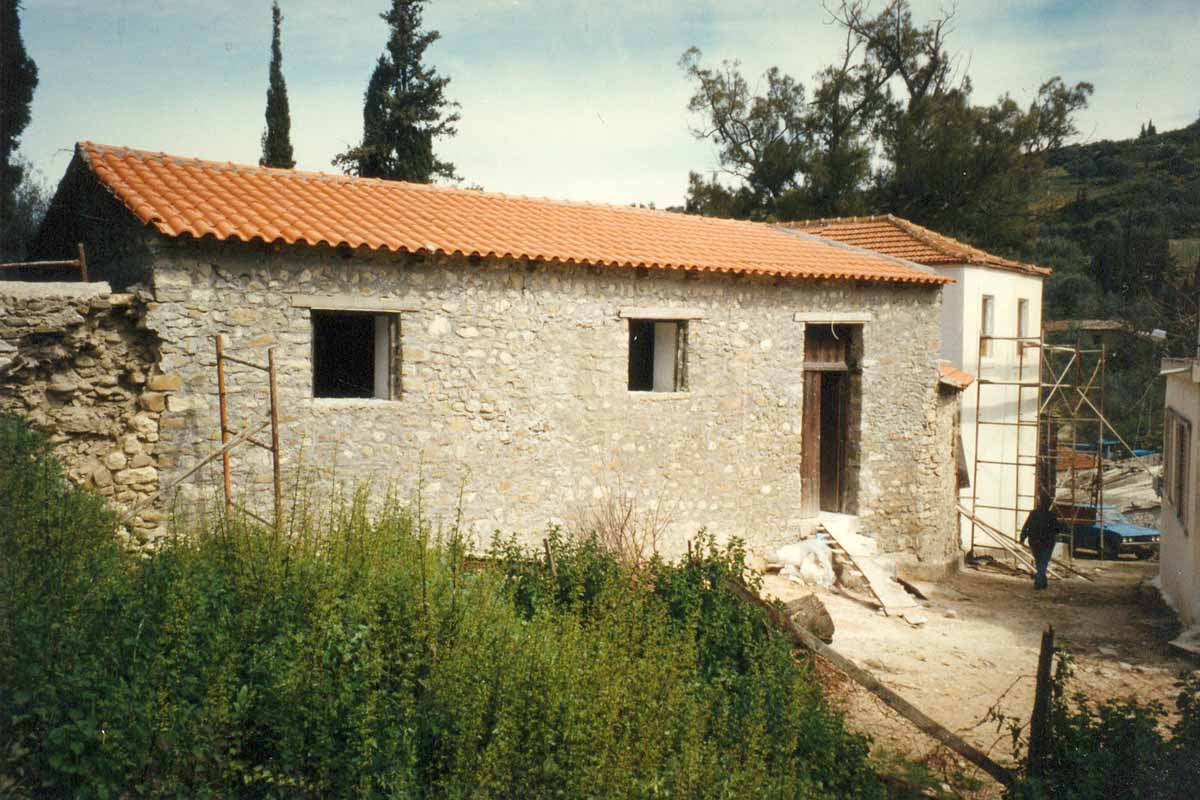 Restoration of a Listed Building in Pavlokastro Patras