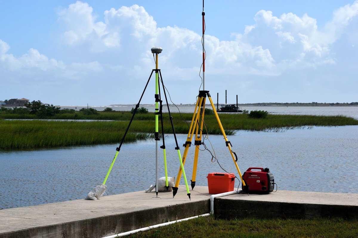 Topographic Surveying equipment